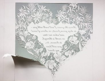 Papercut 25th Anniversary - Work in Progress - Loose paper - Whispering Paper