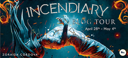 Incendiary Blog Tour