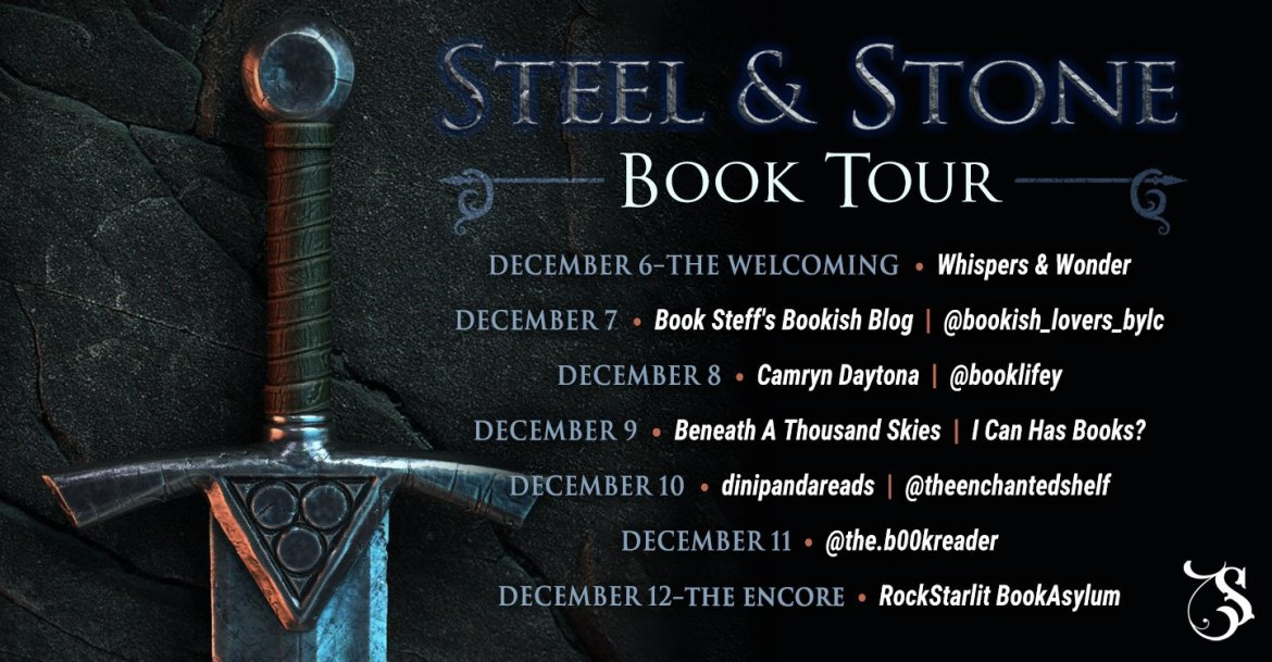 Storytellers On Tour Presents: Steel & Stone by Kate Haley