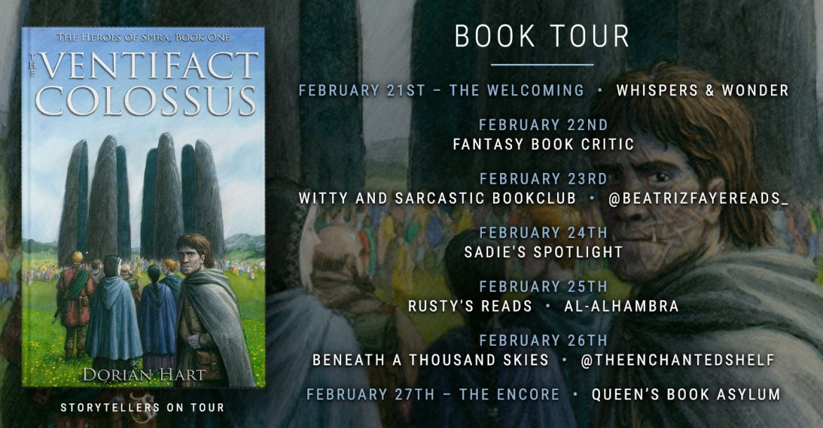 Storytellers On Tour Presents: The Ventifact Colossus by Dorian Hart