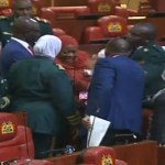 DRAMA AS KWALE WOMAN REP WALKS INTO NATIONAL ASSEMBLY CHAMBER WITH A BABY