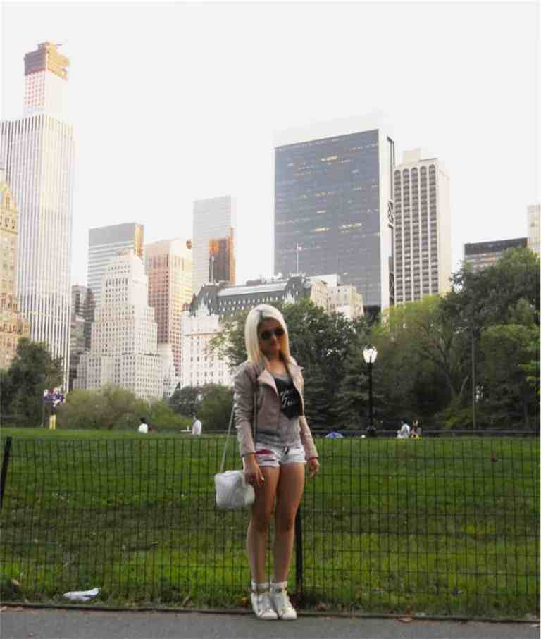 Bella in Central Park NYC