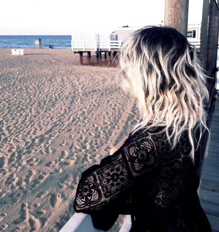 Bella in Virginia Beach pier