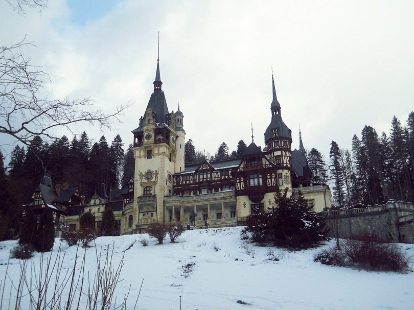Peles Castle Winter