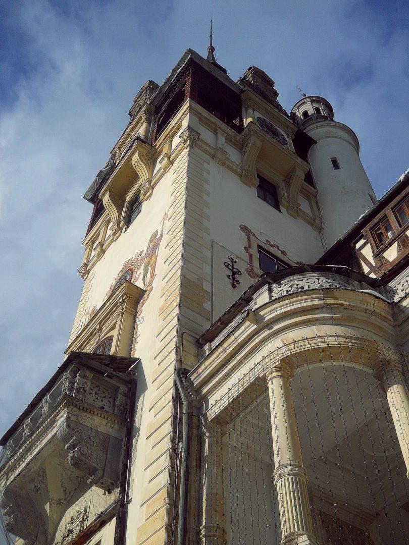 Peles Castle tower