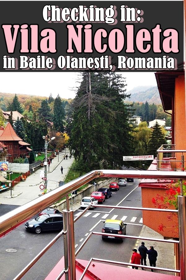 Room view Baile Olanesti