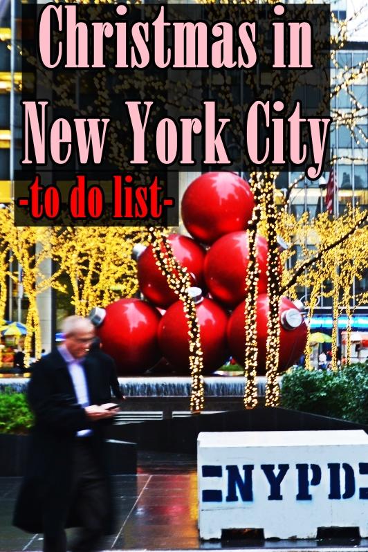 christmas decorations nEW YORK