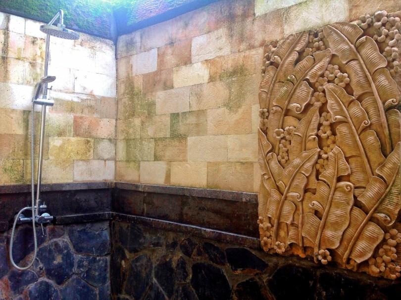 shower Ubud Bali