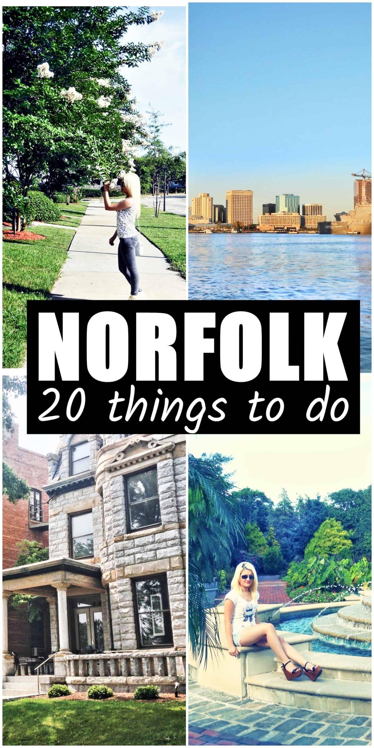 best 20 things to do in norfolk virginia