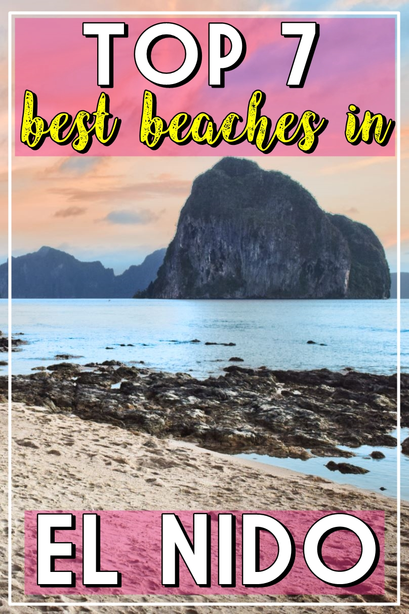 TOP BEACHES EL NIDO