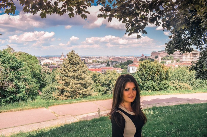 One day in Budapest Hungary