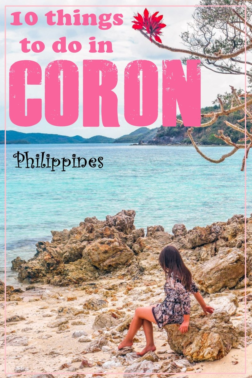 Coron what to do on the island