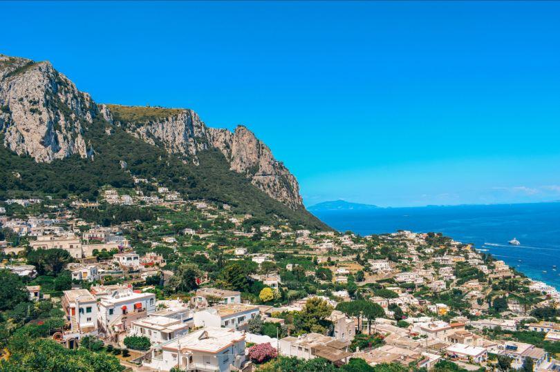 Capri Island Amalfi Coast Italy