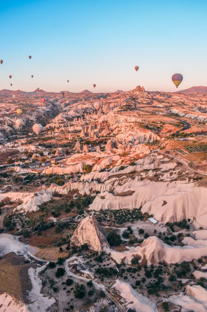top places to visit in Cappadocia Turkey
