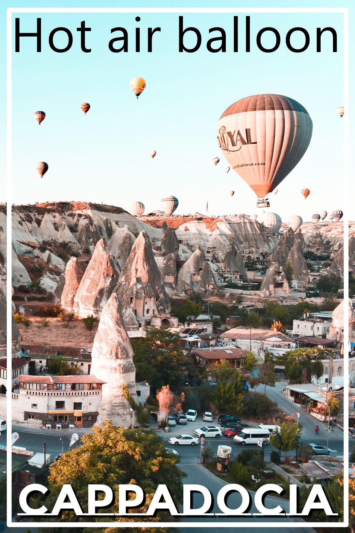 cappadocia hot air baloon