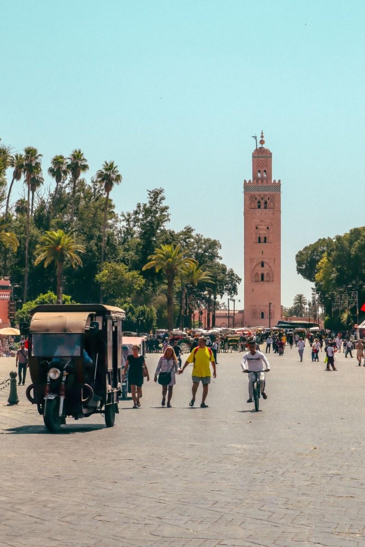 koutoubia mosque marrakesh morocco