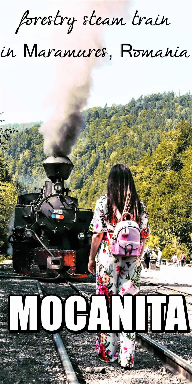 mocanita ROmania last forestry steam train of Europe
