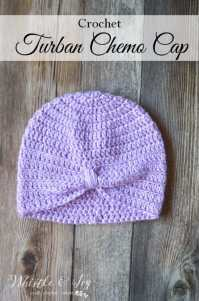 crochet chemo hats and scarves patterns crochet turban ...