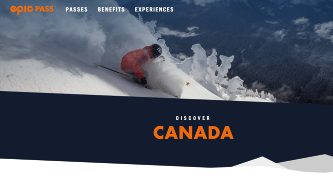 EPIC Pass now includes Canada - Gay Ski Week