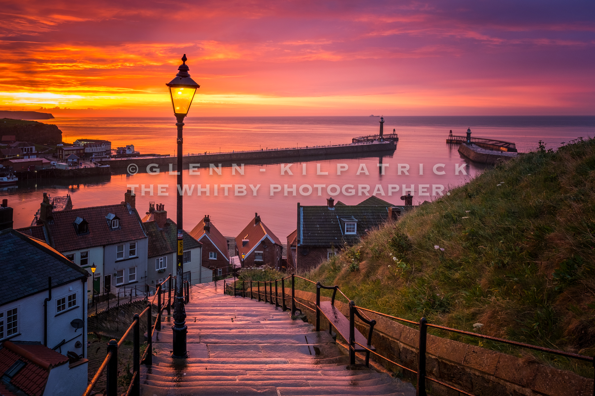 Never Say Never Whitby 199 Steps Sunsets Whitby