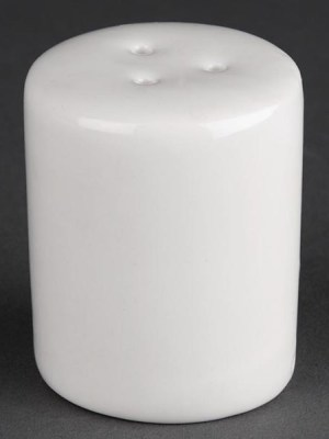 Great value porcelain pepper shakers from Athena Hotelware which is tough