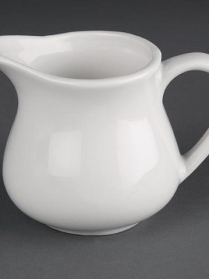 Great value porcelain milk jugs from Athena Hotelware which is tough