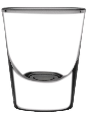 Speciality shot glasses suitable for all spirits and liquor