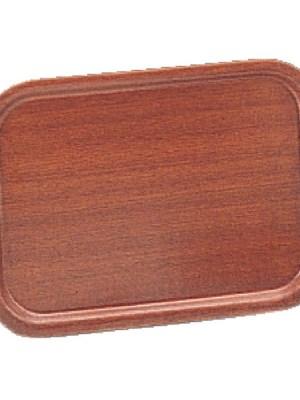 Durable mahogany veneer trays