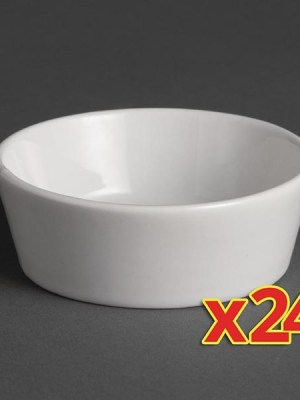 24 miniature dishes.