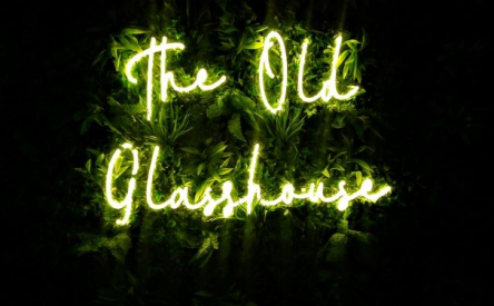 The Old Glasshouse Signage