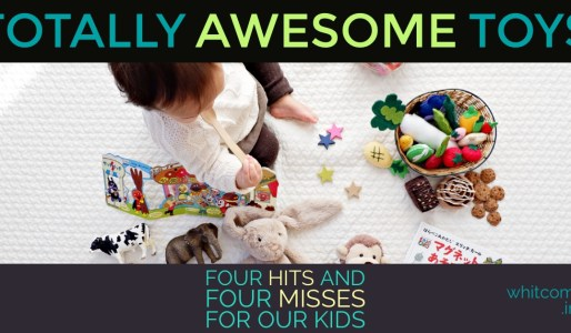Toys: Four Hits and Four Misses for Our Kids