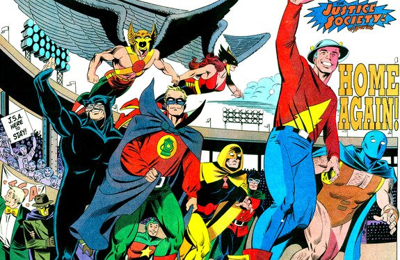 Justice Society of America rebirth