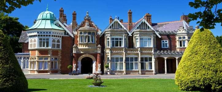 Bletchley Park near White Hart Hotel Dorchester