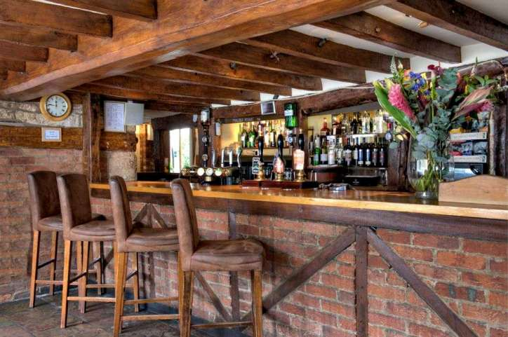 Cocktails at the White Hart Hotel Bar in Dorchester