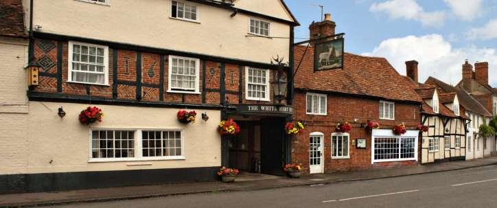 White Hart Hotel in Dorchester near Oxford
