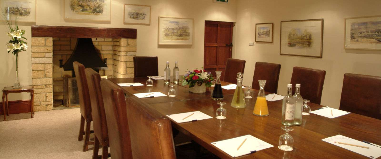 White Hart Hotel Meeting and Events Room in Dorchester