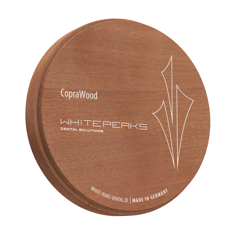 CopraWood-Mahogany-98-Ø-x-25-mm-white