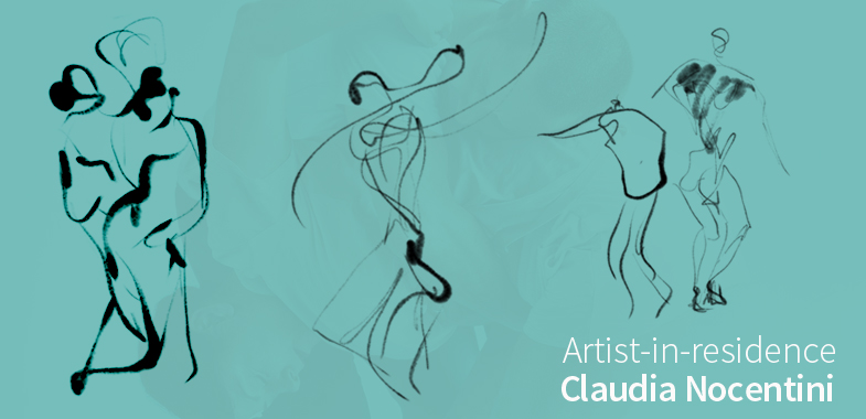 Artist-in-residence Claudia Nocentini
