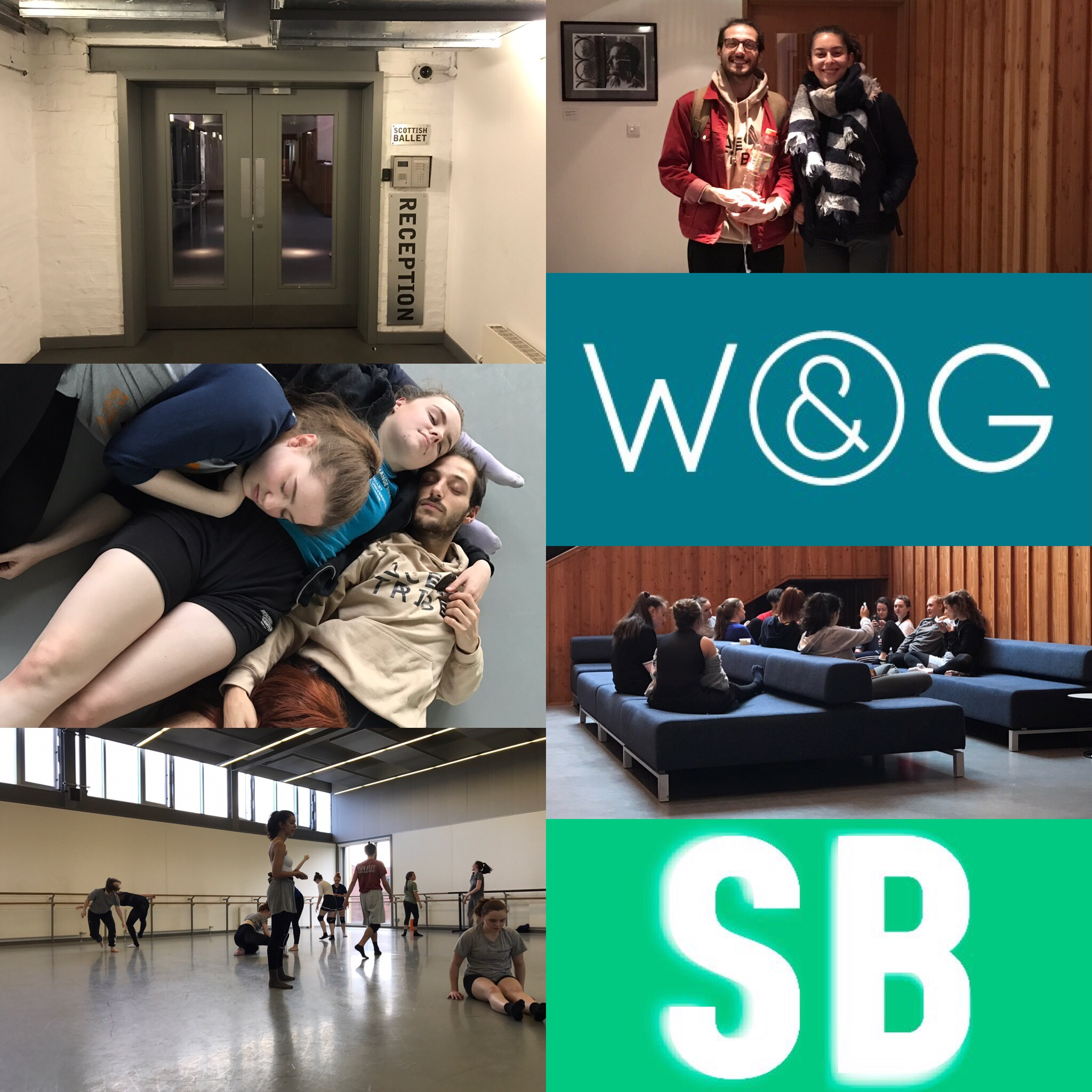 Thank you to everyone at Scottish Ballet Youth Exchange for what was an amazing week in the studio.Well done to all the dancers for your commitment and hard work. Much respect all!