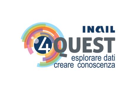 4QUEST - INAIL : Ufficio X - metodologia esplorativa istituzionale (2016 logotype design)