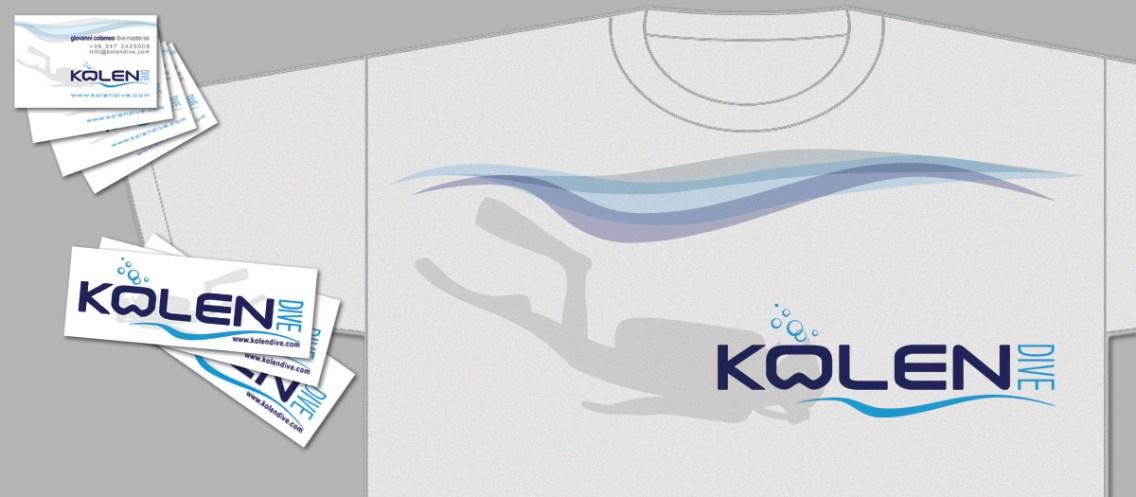 KOLENDIVE - Giovanni Colameo : Dive Instructor - didattica SSI (2011 logo & corporate id.)