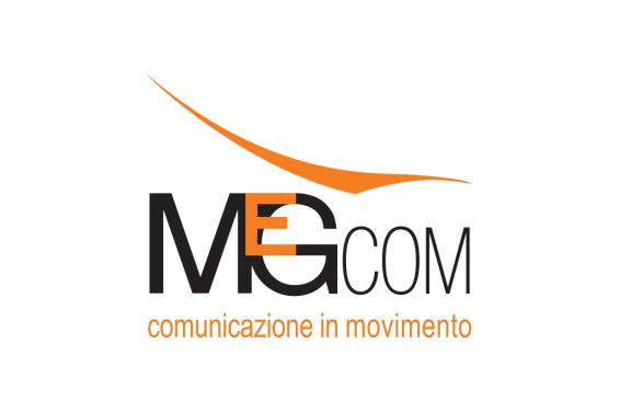 MEGCOM srl : agenzia di consulenza e comunicazione (2011 logotype design)