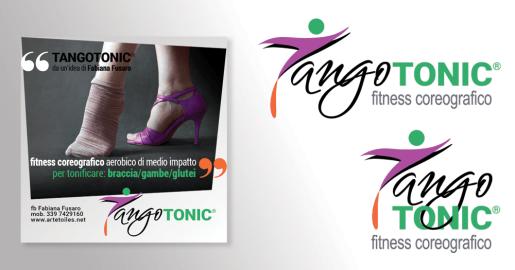 TANGO TONIC® fitness coreografico - 2020 logo & social media communication per ARTETOILES