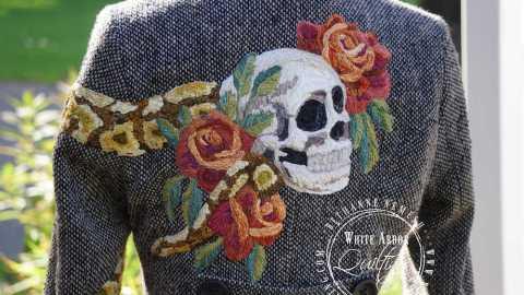 Skull Motorcycle Jacket, 2018