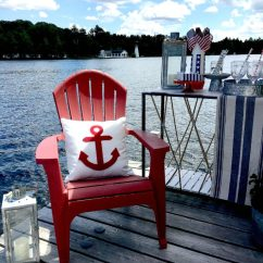 Plastic Adirondack Chairs Walmart Folding Camping Dock Party ~ White Arrows Home