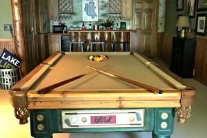 Cabin Basement Family Room