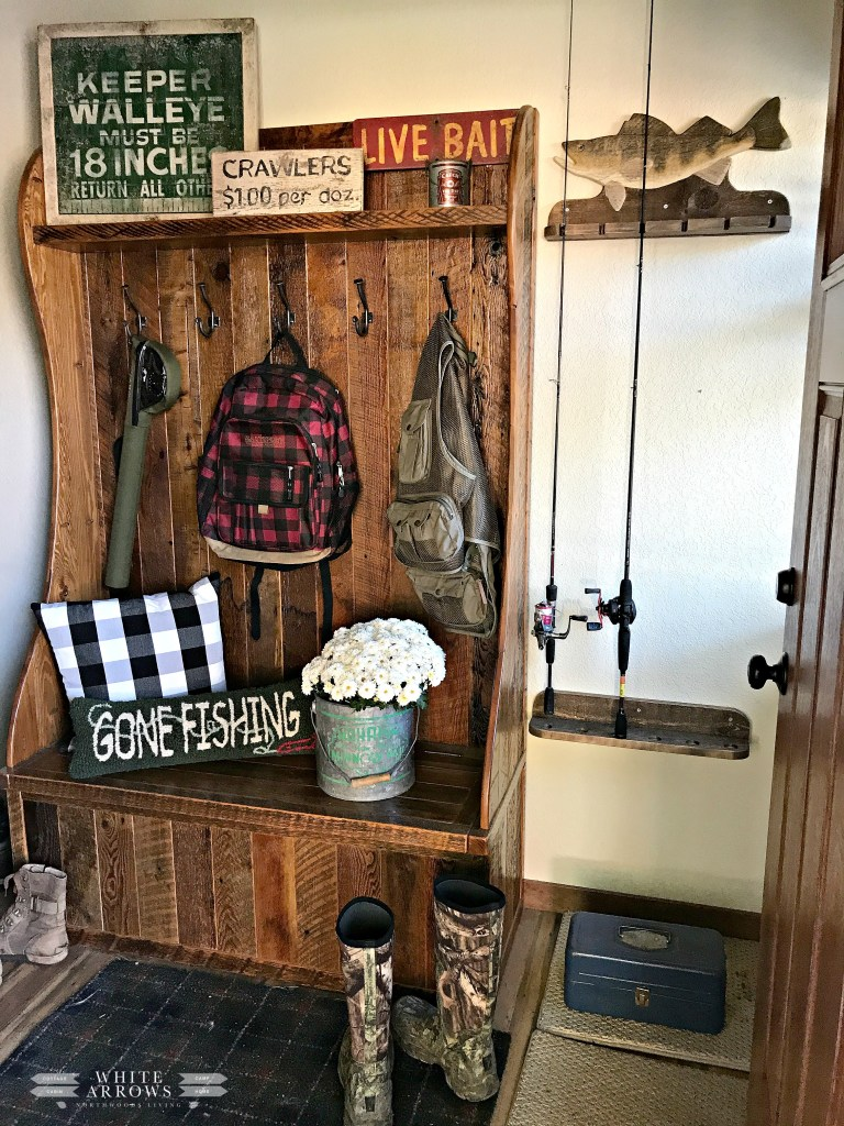 Entry Way, Mudroom, Fly Fishing, Fishing, Coat Rack