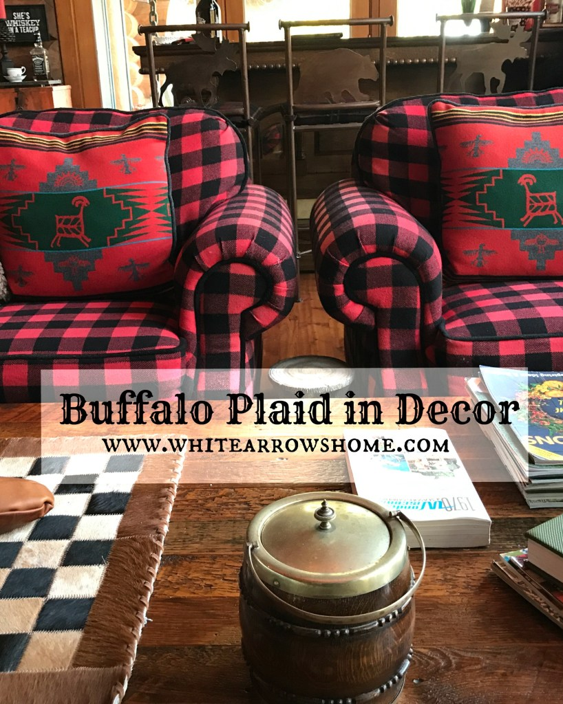 Buffalo Plaid Decor Accents