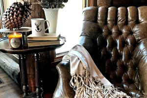 Winter Cozy Neutral Decor- Warm Colors & Touches of Nature
