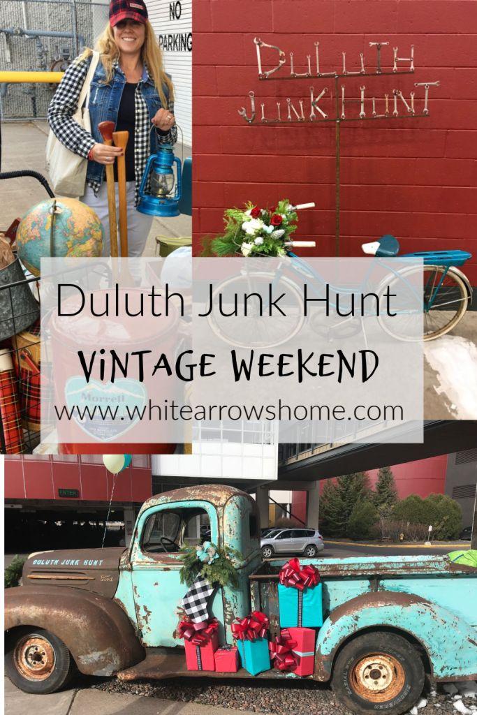 duluth junk hunt. vintage market